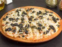 Pizza pequeña chilena