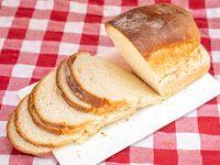 Pan de molde artesanal blanco