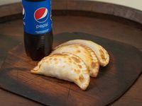 Promo 1 - 3 empanadas + bebida 500 ml