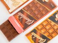 Chocolate de Leche con Mani