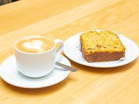 Promo - Porción de budín (carrot) con café