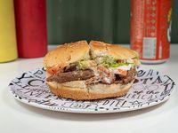 Promo - Sándwich de churrasco italiano + gaseosa 350 ml