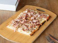 Pizza Muzzarella porción con 1 gusto