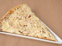 Pizza Porción Champiñón con Pollo