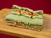 6 Sándwiches vegetarianos de copetin