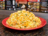 Arroz al wok con huevo
