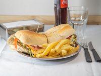 Sándwich de milanesa Fury