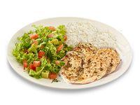 Almuerzo Premium Filete a la Plancha