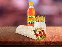 Combo Burrito Monterrey Mixto