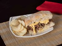 Philly Cheese + Paquete Papas Fritas