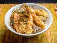 Ten don - tempura donburi