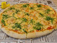 Pizza Brune Camaronatta