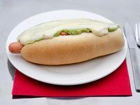 Hot dog completo (18 cm)