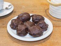 Ciruelas con chocolate
