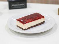 Porción de Cheesecake de frambuesa