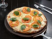 Pizza italiana de capresse 30 cm (para 2 personas)