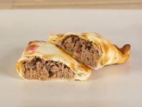 Empanada de carne criolla sin aceitunas  (al horno o frita)