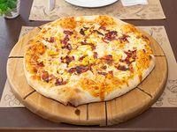 Pizza individual cornbacon