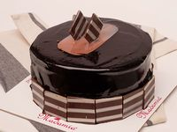 Torta Chocovainilla