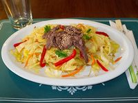 Yasai Itame con carne