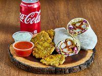 Combo Chicken Wrap + Papas Fritas + Soda