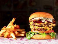 Titi Burger Con Papas