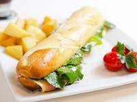Baguette vegetariano