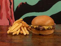 Cheeseburger + Papas
