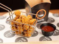 Pop chicken + aderezo