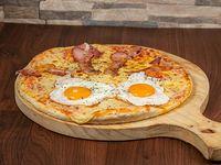 Pizzeta con tocino