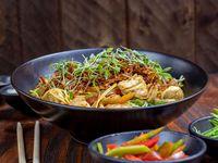 Curry de Camarón y Pollo