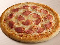 Pizza Personal Jamón y Champiñones
