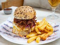 Gibson ribs burger