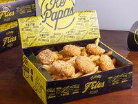 Caja Mega papas con 6 nuggets