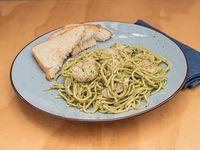 Pasta Pesto con Pollo