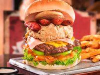 Hamburguesa la Polvorete Burger Master