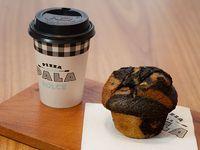 Promo - 1 muffin + Bebida caliente