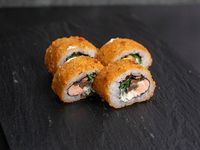 Hot champi sake roll