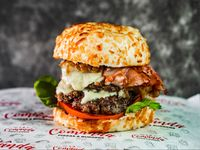 La comanda burger doble