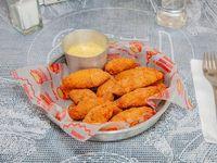 Fingers de pollo rebozados