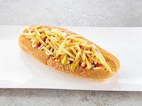Hot dog con papitas