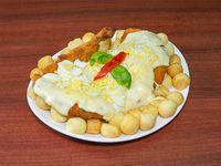 Suprema de pollo a la suiza (para compartir)