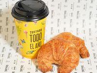 Promo desayuno - Café + 2 medialunas