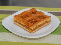 Pasta frola de batata (porción)