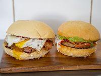 Promoción - 2 hamburguesas a elección