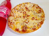 Pizza Extra Grande  + Gaseosa 1.5 L