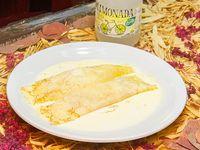 Promoción - Crepes de jamón y queso + Agua saborizada línea Levité 500 ml
