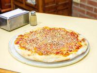 Pizza ajo al oleo