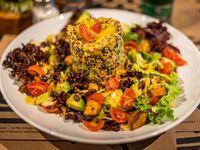 Jardín de quinoa real