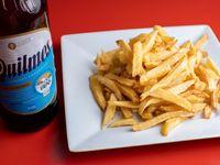 Promo - Papas fritas grandes + Cerveza Quilmes 1 L
